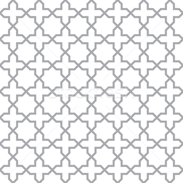 Simple geometric seamless vector texture Stock photo © pzaxe