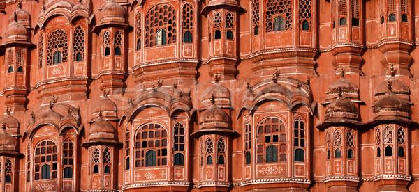 宮殿 インド パノラマ 建物 ストックフォト © pzaxe