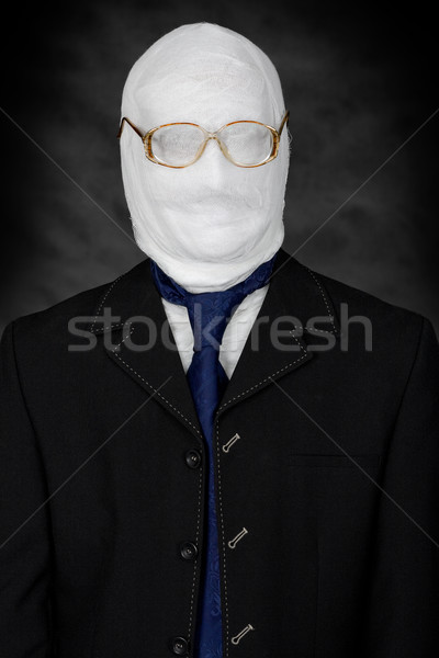 Businessman - mummy Stock photo © pzaxe