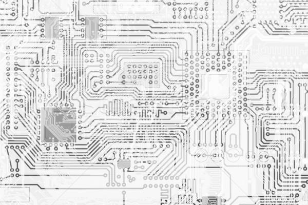 Stok fotoğraf: Devre · kartı · endüstriyel · elektronik · grafik · tek · renkli · doku