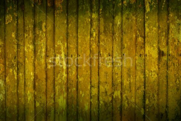 Moldy wooden house wall Stock photo © pzaxe