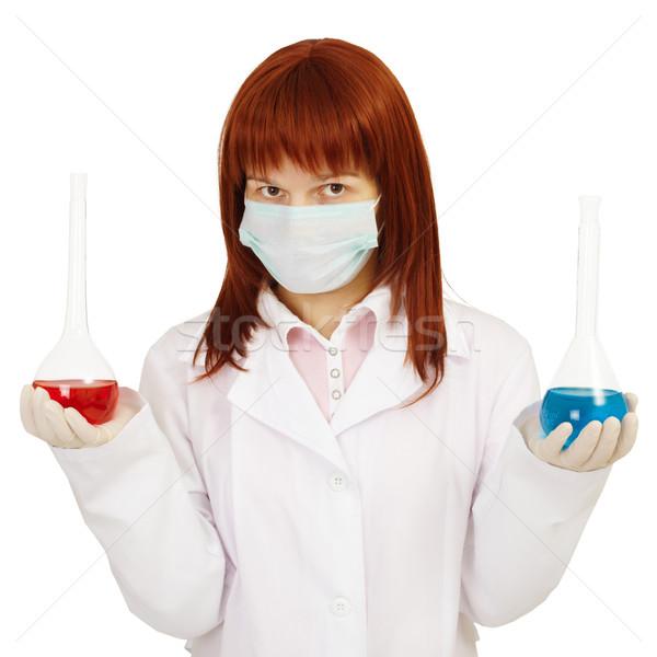 Physician shows us alternative preparations Stock photo © pzaxe