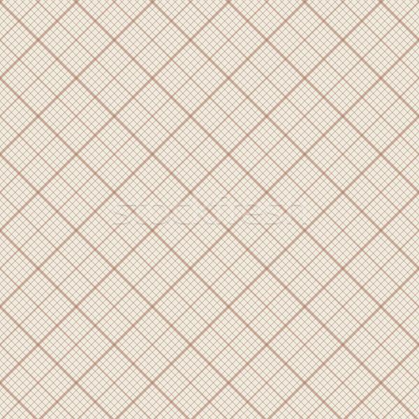 Diagonale vettore retro millimetro carta Foto d'archivio © pzaxe
