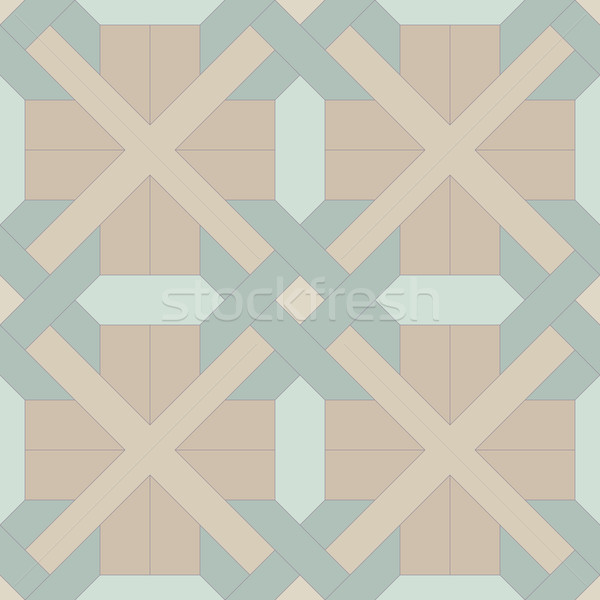 Diagonal abstract geometric pattern. Repeated seamless vector te Stock photo © pzaxe