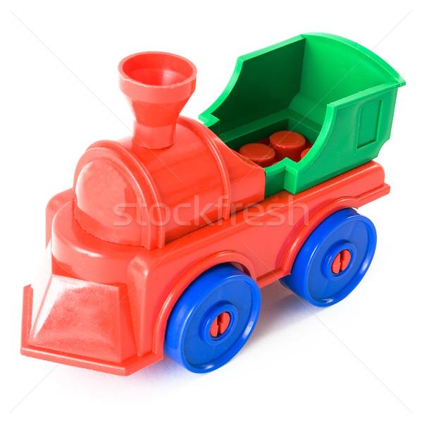 Toy steam-engine Stock photo © pzaxe