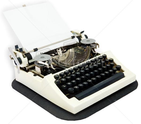 Typewriter Stock photo © pzaxe