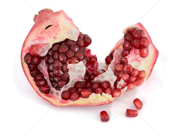 Pomegranate on a white background Stock photo © pzaxe