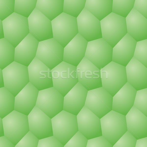 Vector seamless pattern - chaotic volume poligonal gray backgrou Stock photo © pzaxe