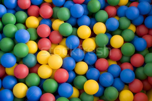 Color balls Stock photo © pzaxe