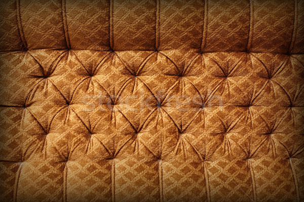 Brown upholstery - retro background Stock photo © pzaxe