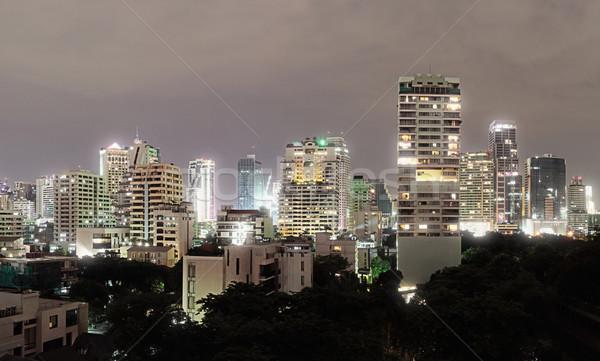Mimari Bangkok binalar şehir modern mimari Stok fotoğraf © pzaxe