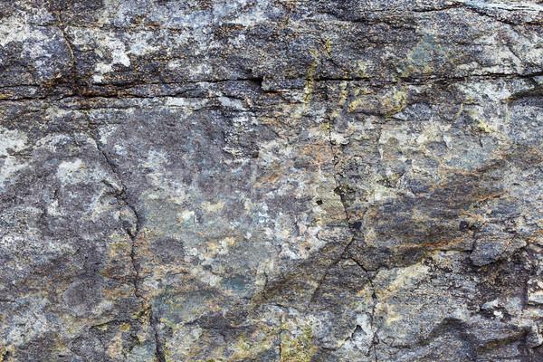 Granit kaya çatlaklar doğal yüzey Stok fotoğraf © pzaxe