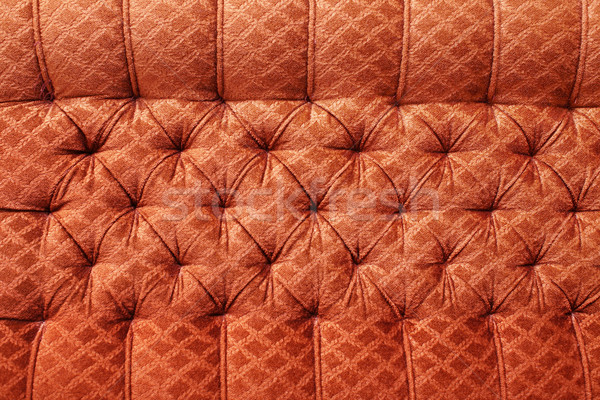 Red antique furniture upholstery - background Stock photo © pzaxe
