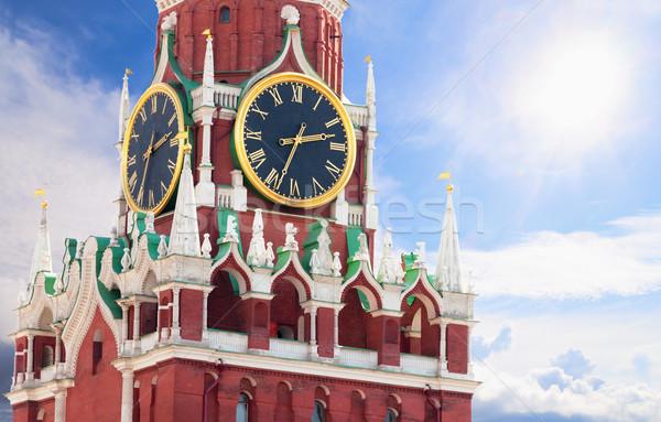 известный башни Кремль Россия Москва Сток-фото © pzaxe