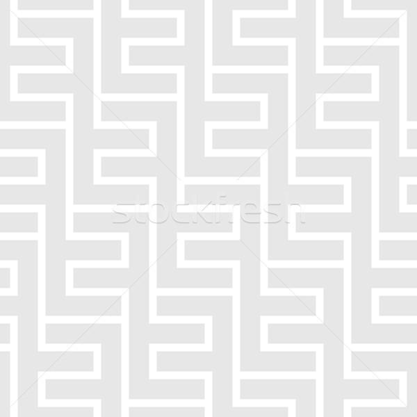 Bezszwowy vintage geometryczny wzór etnicznych wektora eps8 Zdjęcia stock © pzaxe