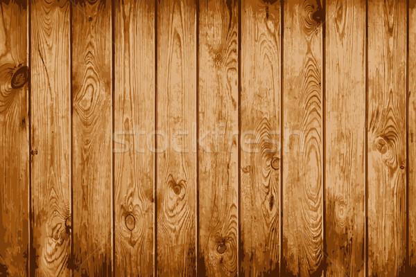 Vieux naturelles bois minable vecteur eps8 Photo stock © pzaxe