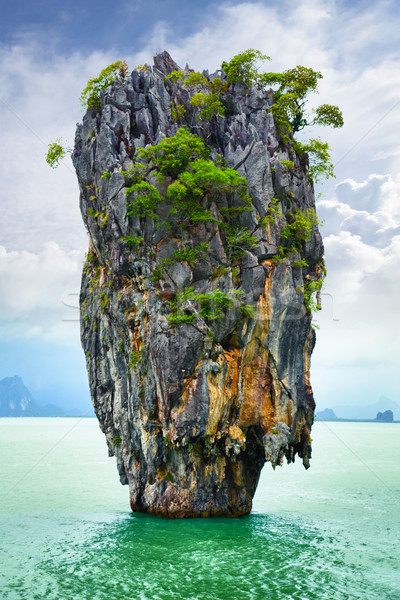 Bond island in Thailand Stock photo © pzaxe