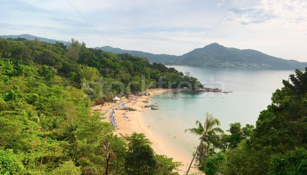 şarkı söylemek plaj phuket ada Tayland üst Stok fotoğraf © pzaxe