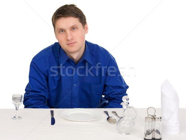 Guest of restaurant Stock photo © pzaxe