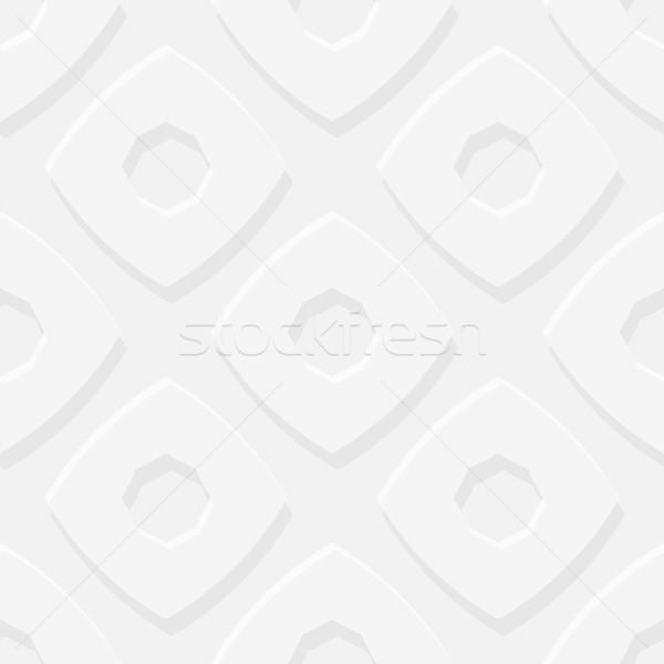 Semplice geometrica vettore grigio volume Foto d'archivio © pzaxe