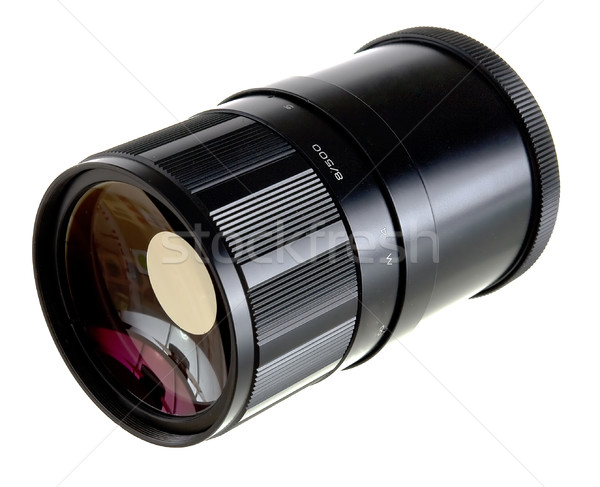 Mirror lens objective Stock photo © pzaxe
