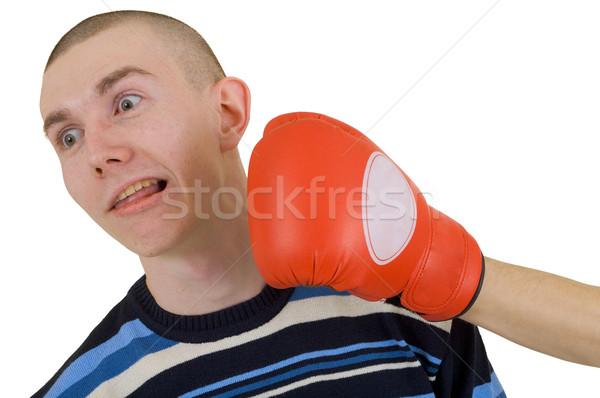 Man taking a punch Stock photo © pzaxe