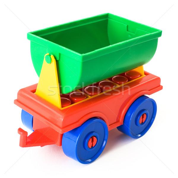 Toy trailer Stock photo © pzaxe