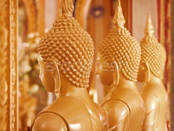 Buda iç tapınak Tayland phuket Stok fotoğraf © pzaxe