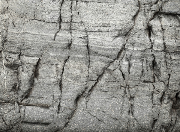 Surface of natural stone with large cracks Stock photo © pzaxe