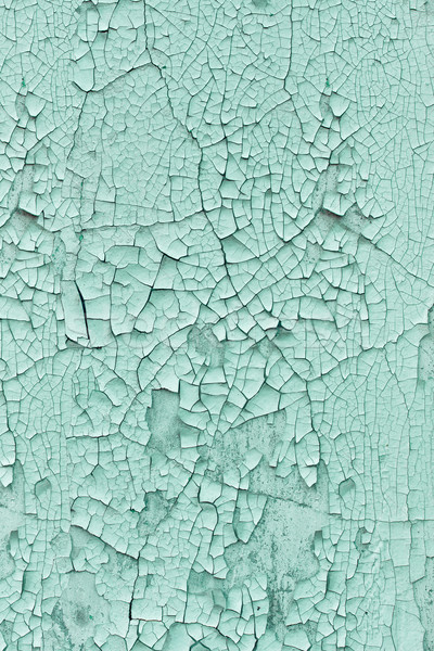 Background - wall covered with cracked paint Stock photo © pzaxe