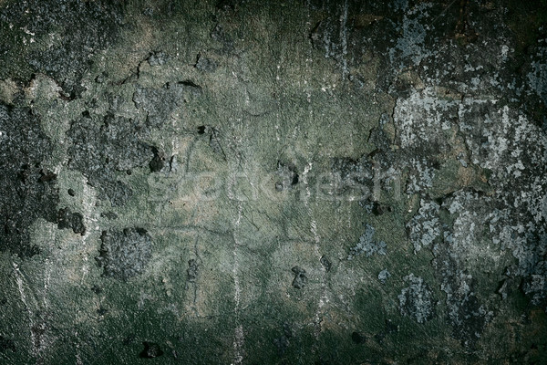 Dark concrete painted old wall frame Stock photo © pzaxe