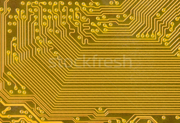 Industrial texture of a electronic plate Stock photo © pzaxe