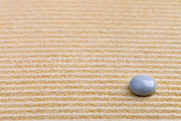 Art background - yellow sand and stone Stock photo © pzaxe