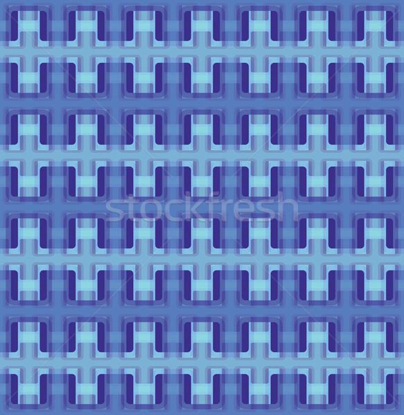 Vector seamless interwoven texture Stock photo © pzaxe