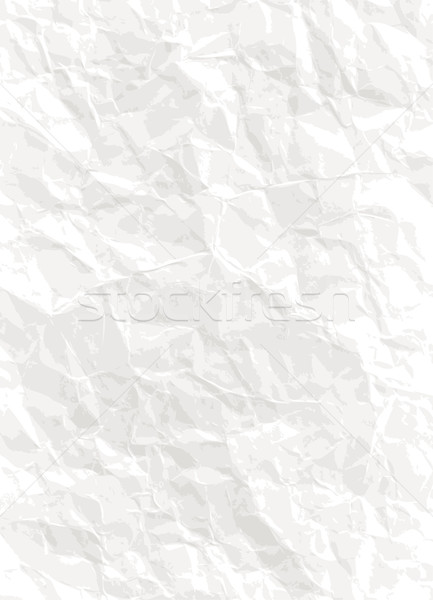Paper background - vector creased texture Stock photo © pzaxe