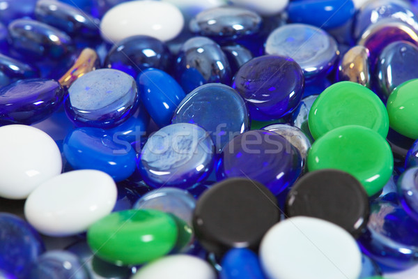Scattering glass stones Stock photo © pzaxe