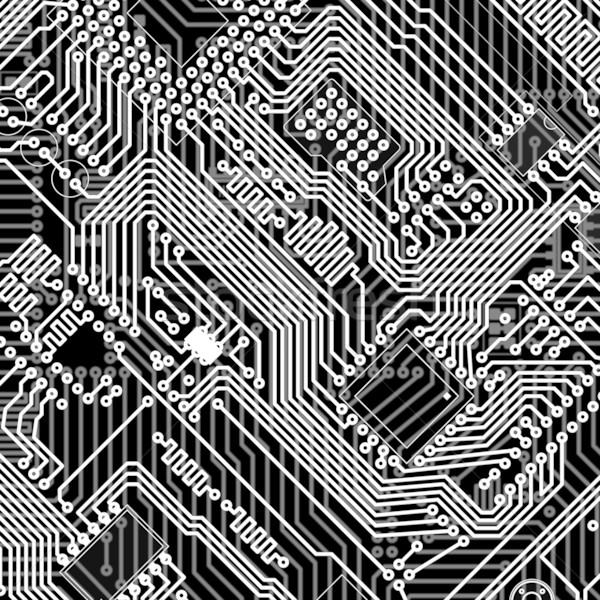 Circuit board industrial electronic monochrome background Stock photo © pzaxe