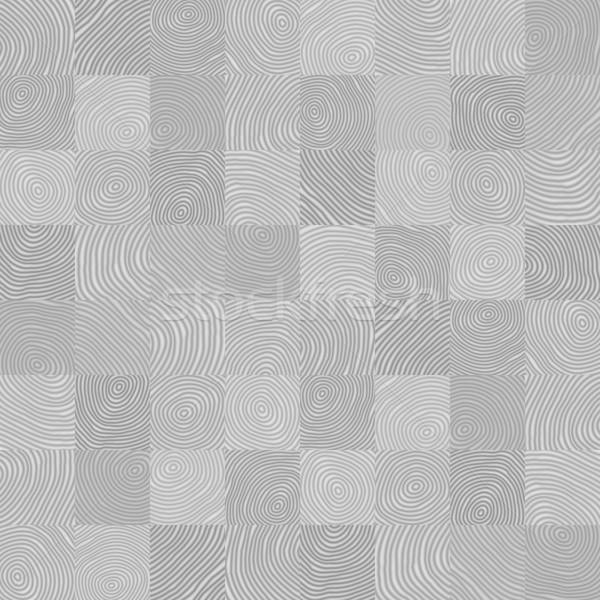 Vettore grigio senza soluzione di continuità disegno geometrico irregolare elementi Foto d'archivio © pzaxe