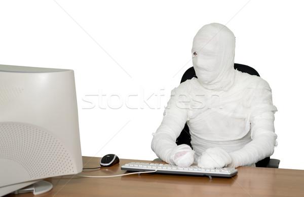 The bandaged boss  Stock photo © pzaxe