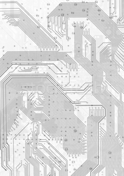 Electronic circuit board gray graphic background Stock photo © pzaxe