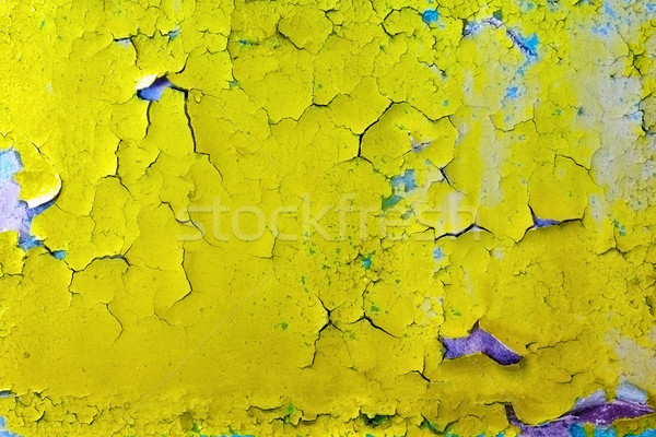 Scheuren oppervlak oude muur talrijk verf Stockfoto © pzaxe