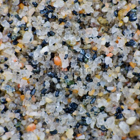 Macro-photo of a quartz sand Stock photo © pzaxe