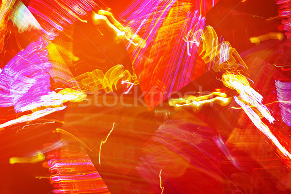 Fiery abstraction - graphic orange background Stock photo © pzaxe