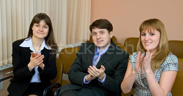 People applaud Stock photo © pzaxe