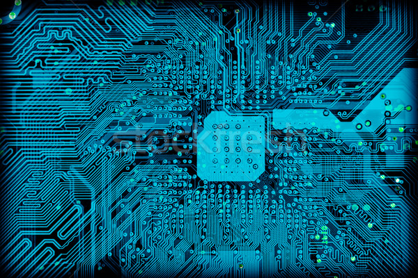 Tech industrial electronic background texture Stock photo © pzaxe
