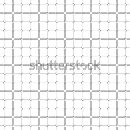 Monochrome vector pattern - grating Stock photo © pzaxe