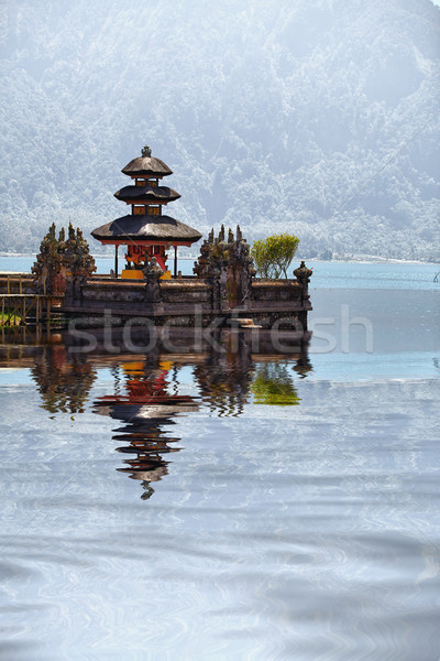 Templo complexo bali Indonésia edifício natureza Foto stock © pzaxe