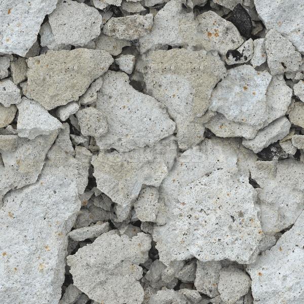 Roncs beton végtelenített ipar kő ipari Stock fotó © pzaxe