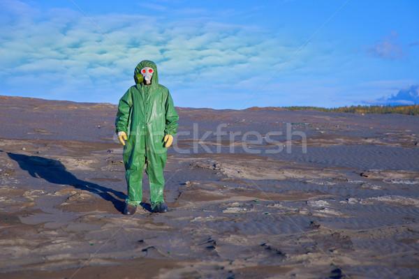 Ambientale scienziato ecologico come fantasma Foto d'archivio © pzaxe