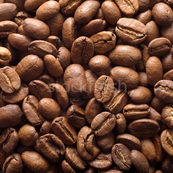 Coffee grains Stock photo © pzaxe